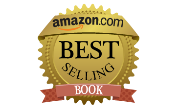 A logo of Amazon best selling book awarded to Narges' Book: Capture The Spotlight