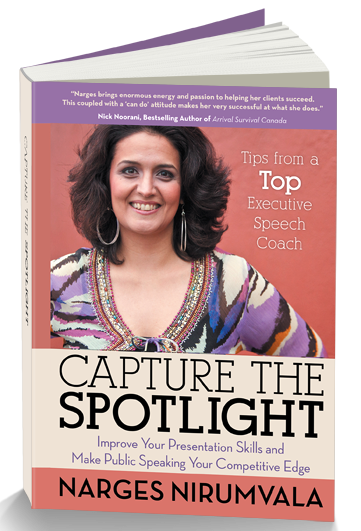 An image of the book - Capture The Spotlight by Narges Virumvala