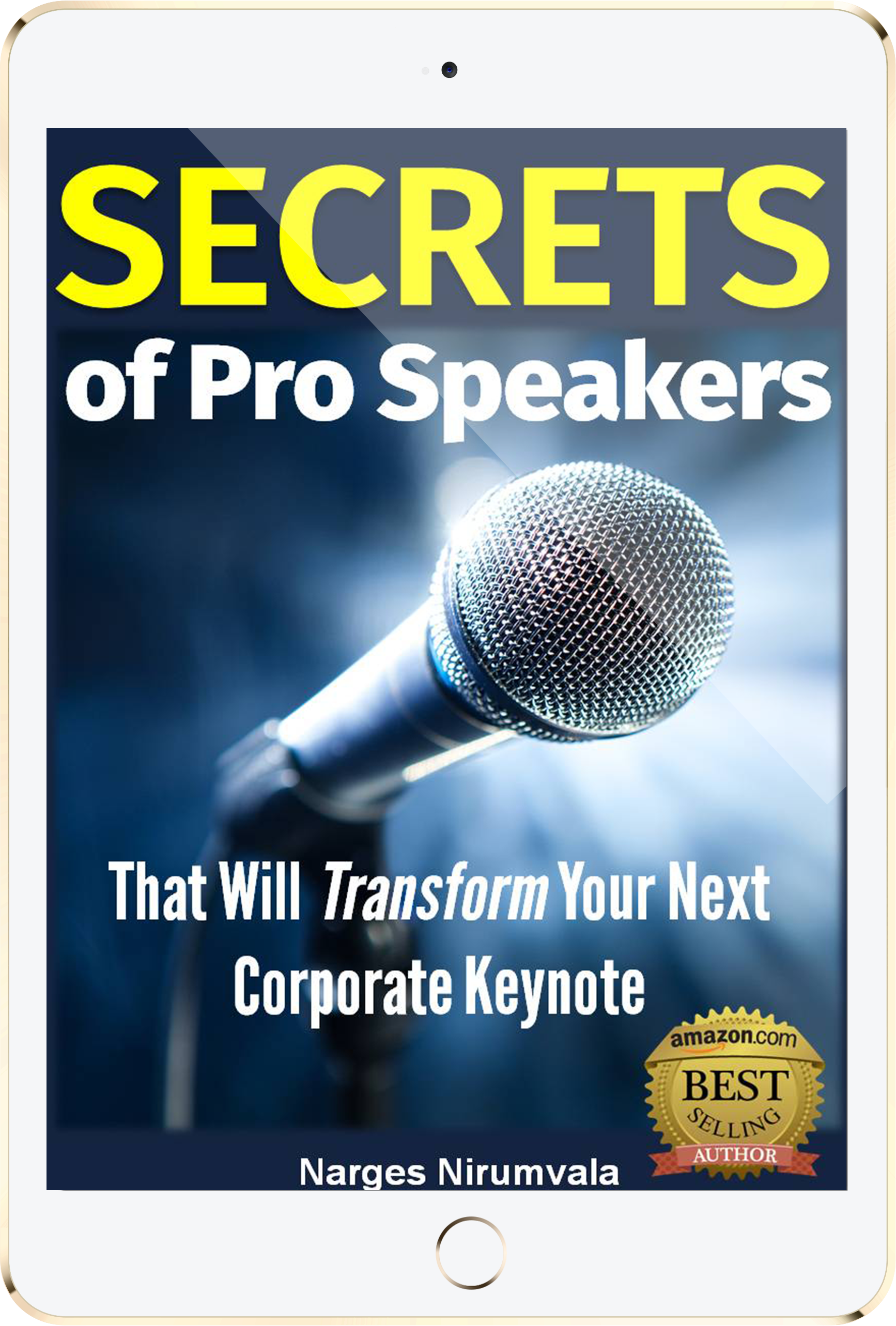 An image of the Free Ebook SECRETS OF PRO SPEAKERS