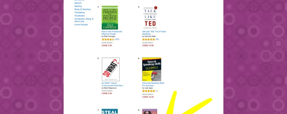 A image of Narges Book - 'Capture The Spotlight' on Amazon's Best Seller