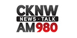 a logo of the CKNW AM 980 Radio station based in Vancouver BC
