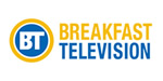 The logo of BREAKFAST TELEVISION
