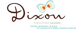 A logo of the Dixon Transition Society