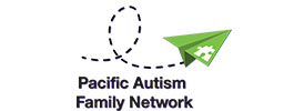 Logo of the Pacific Autism Family Network