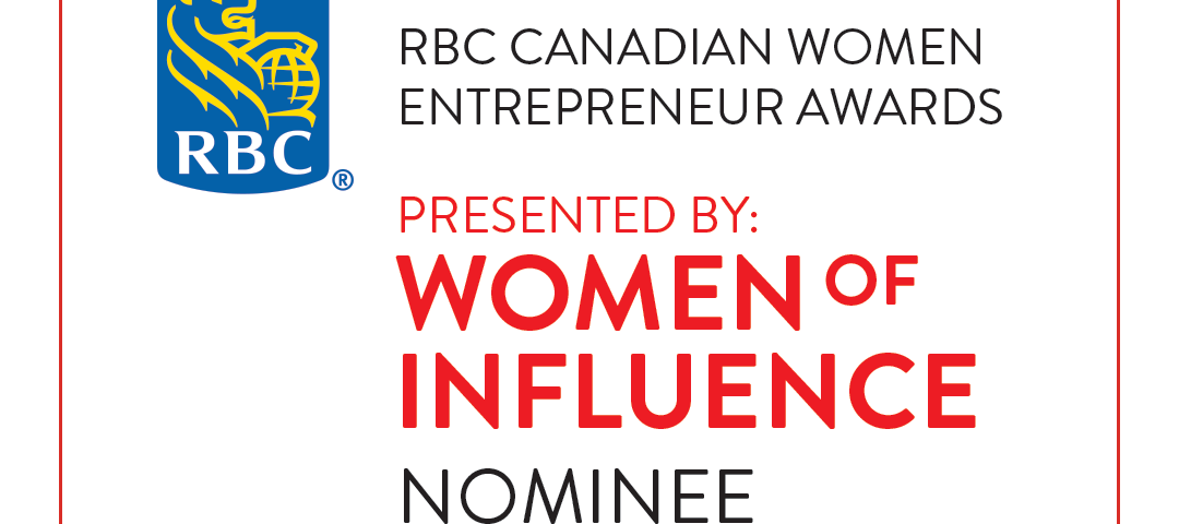 A image of Narges nominated for the RBC's Women Entrepreneur awards