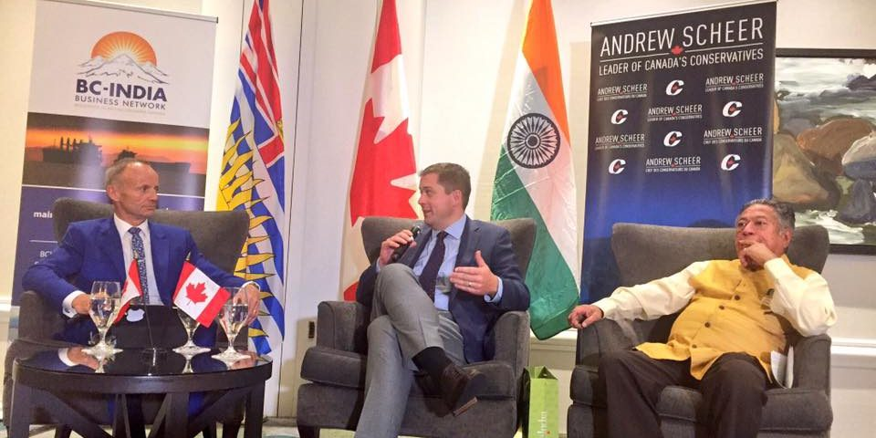 BCIBN Lunch Event with Hon. Andrew Scheer