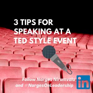 TEDx Talk Tips